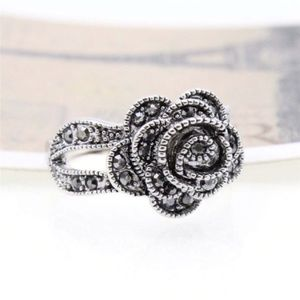 Jewelry - Rose Marcasite Ring
